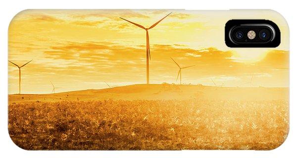 Energy iPhone Case - Musselroe Wind Farm by Jorgo Photography - Wall Art Gallery