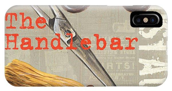 Man Cave iPhone Case - Mustache 1 by Debbie DeWitt