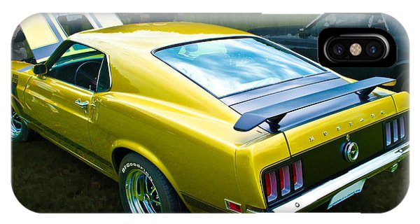Mustang Boss 302 IPhone Case