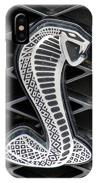 Mustang Cobra Logo IPhone Case