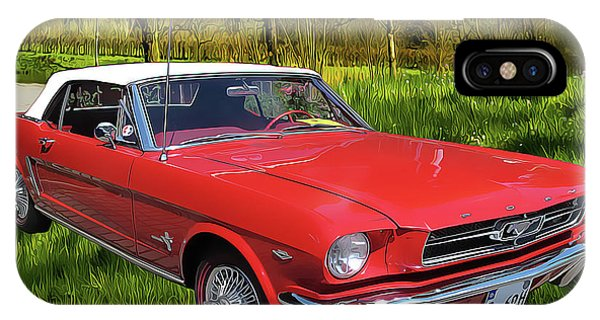 iPhone Case - Mustang by Harry Warrick