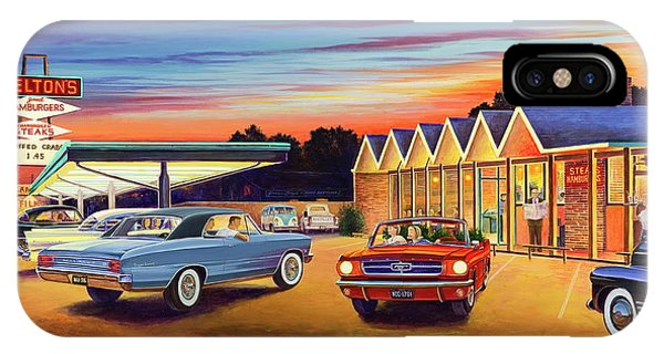 Mustang Sally - Shelton's Diner 2 IPhone Case