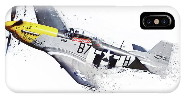 Mustang Shatter IPhone Case