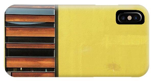 iPhone Case - Mustard Wall by Julie Gebhardt