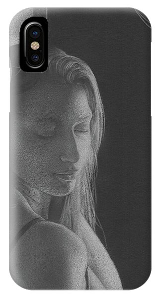 Muted Shadow No. 3 IPhone Case