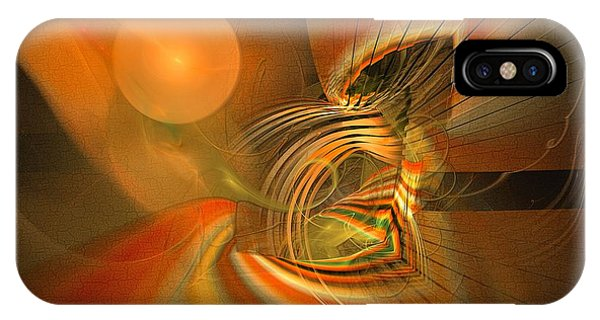 Mutual Respect - Abstract Art IPhone Case