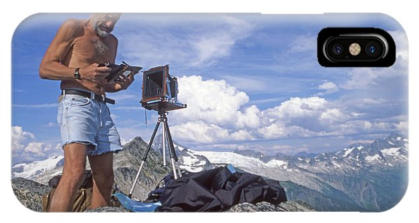 IPhone Case featuring the photograph Mxx133 Ed Cooper On Hidden Lakes Peaks Wa by Ed Cooper Photography