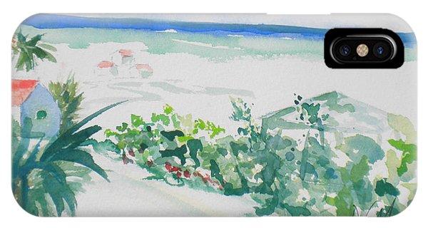 My Beach Cottage In Siesta Key IPhone Case
