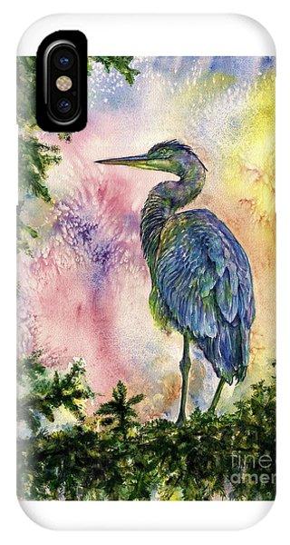 My Blue Heron IPhone Case