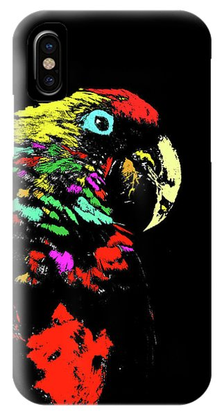 My Colorful Mccaw IPhone Case