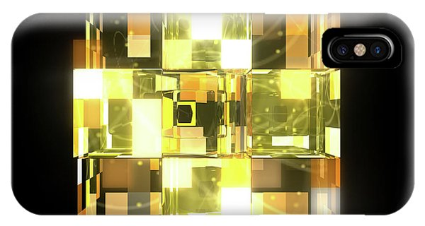 iPhone Case - My Cubed Mind - Frame 019 by Jules Gompertz