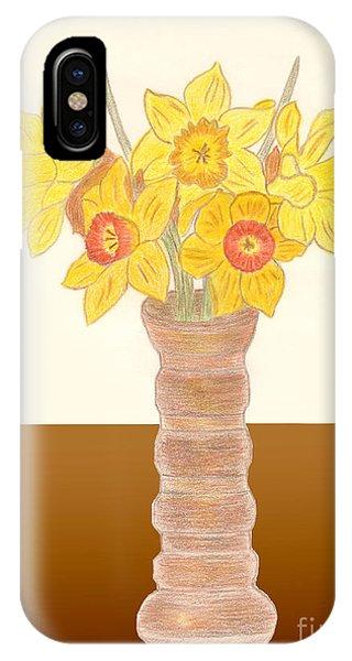 My Daffodils IPhone Case