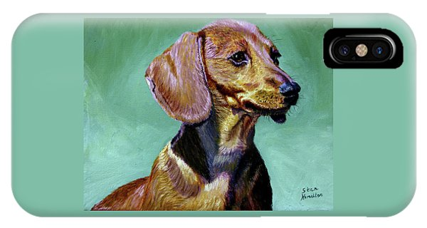 My Daschund IPhone Case