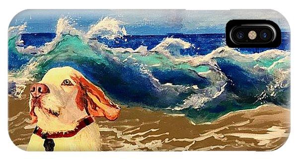 My Dog And The Sea #1 - Beagle IPhone Case