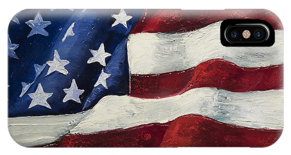 American Flag iPhone Case - My Flag by Jodi Monahan