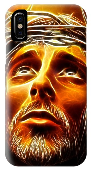 Spirituality iPhone Case - My God  Why Have You Abandoned Me by Pamela Johnson