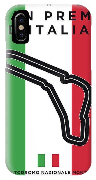 My Gran Premio D Italia Minimal Poster IPhone Case