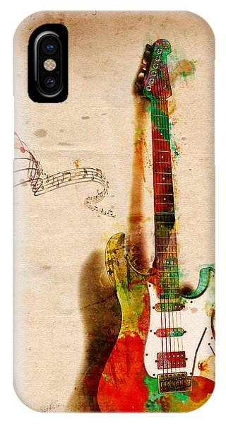 Rock And Roll iPhone Case - My Guitar Can Sing by Nikki Smith
