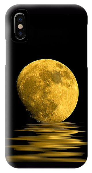 Reflection iPhone Case - My Harvest Moon by Lynn Andrews