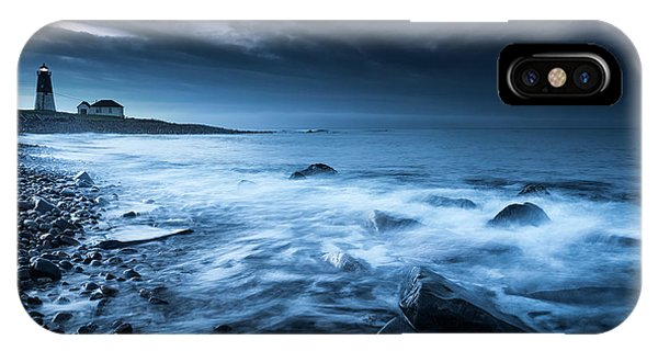 Point Judith Lighthouse - My Hope IPhone Case