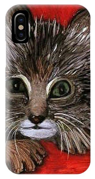My Kittie Cat Phone Case by Pilar  Martinez-Byrne