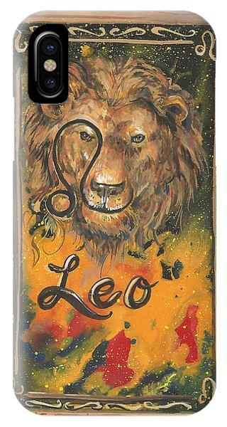 My Leo  IPhone Case
