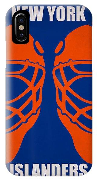 Islanders iPhone Case - My New York Islanders by Joe Hamilton