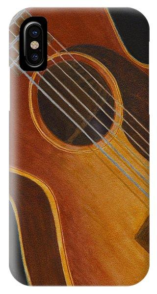 My Old Sunburst Guitar IPhone Case
