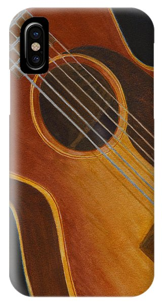 My Old Sunburst Guitar IPhone Case