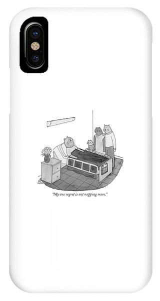 My One Regret Is Not Napping More IPhone Case