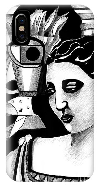 My Outing With A Young Woman By Picasso IPhone Case