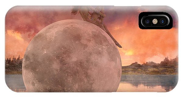 Sitting iPhone Case - My Peaceful Place by Betsy Knapp