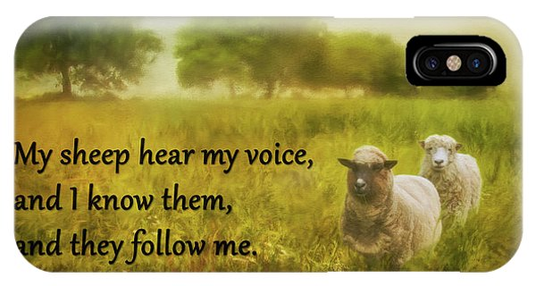 My Sheep Hear My Voice IPhone Case