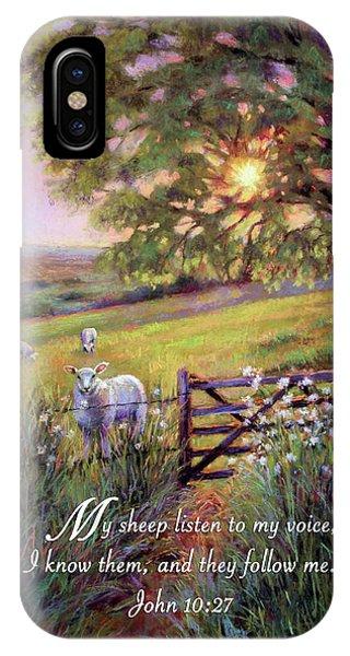 My Sheep Hear My Voice IPhone Case