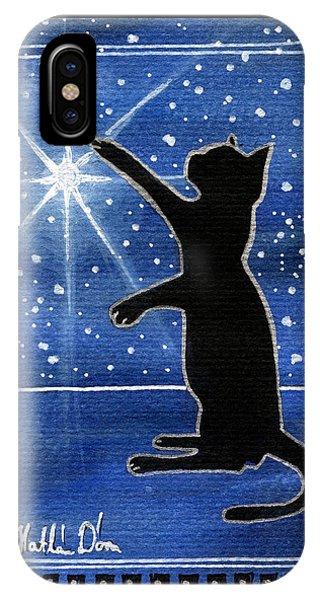 My Shinning Star - Christmas Cat IPhone Case