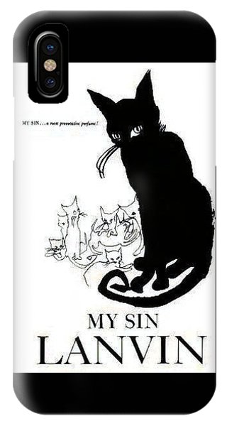 IPhone Case featuring the digital art My Sin by ReInVintaged