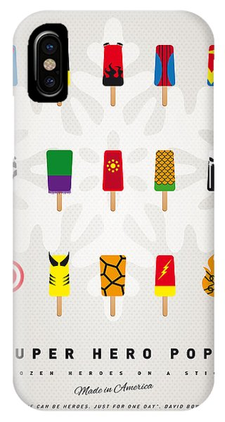 Ice iPhone Case - My Superhero Ice Pop - Univers by Chungkong Art