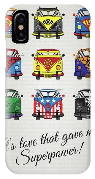Freed iPhone Case - My Superhero-vw-t1-supermanmy Superhero-vw-t1-universe by Chungkong Art