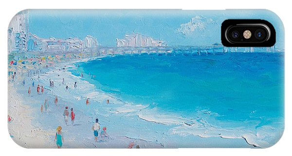 Myrtle Beach And Springmaid Pier IPhone Case