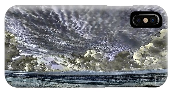 Myrtle Beach Hand Tinted Panorama Sunrise IPhone Case