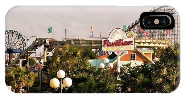 Myrtle Beach Pavillion Amusement Park IPhone Case