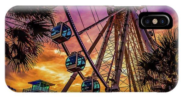 Myrtle Beach Skywheel IPhone Case