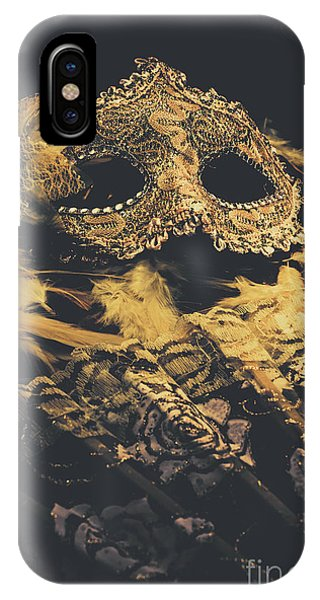 Shrouds iPhone Case - Mysteries In Play Acting by Jorgo Photography - Wall Art Gallery