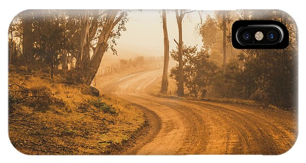 Rural iPhone Case - Mysterious Autumn Trail by Jorgo Photography - Wall Art Gallery