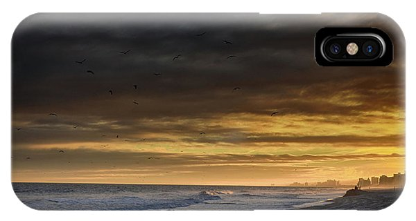 IPhone Case featuring the photograph Mysterious Myrtle Beach by Kelly Reber