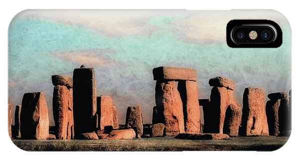 Mysterious Stonehenge IPhone Case