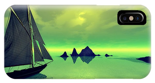 Mysterious Voyage Phone Case by Sandra Bauser Digital Art
