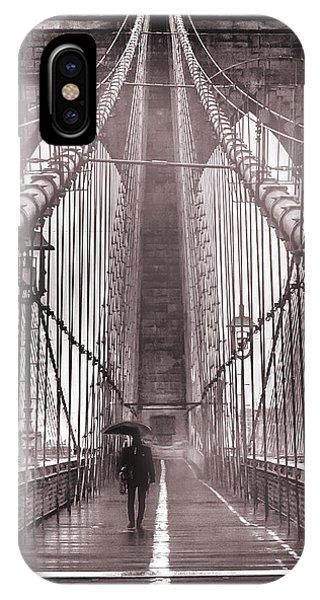 Road iPhone Case - Mystery Man Of Brooklyn by Az Jackson