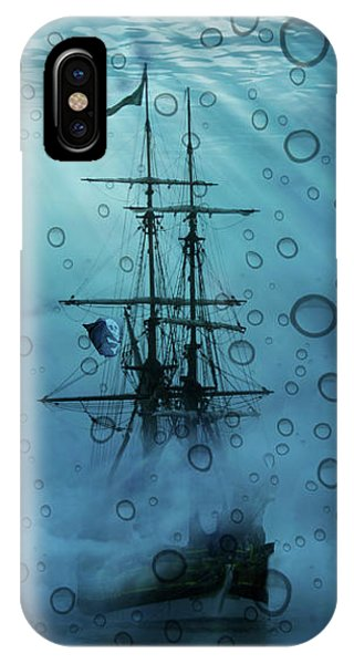 Mystery Ship Underwater IPhone Case