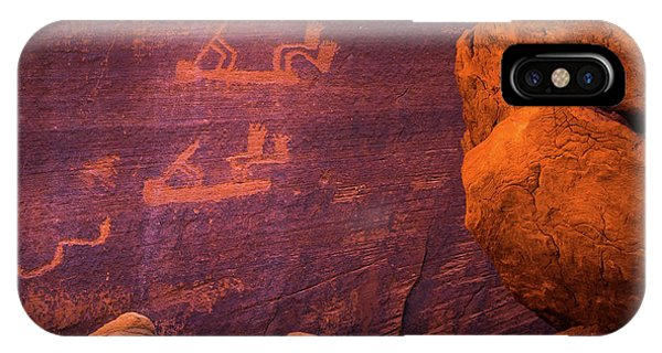 Mystery Valley Rock Art IPhone Case